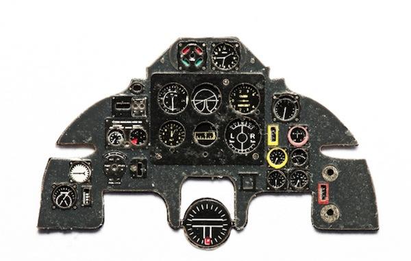 【新製品】YMA4823)ボルトンポール デファイアント Mk.I/II 計器盤