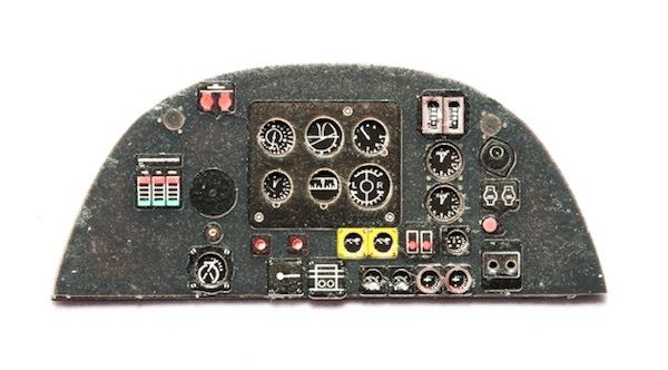 【新製品】YMA4829)ブリストル ボーファイター Mk.VI 計器盤