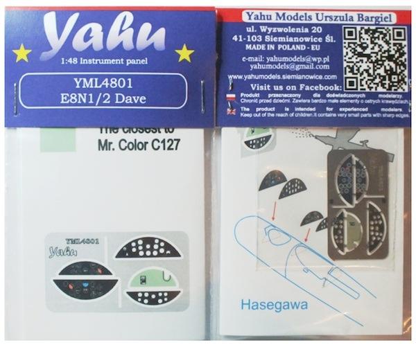 【新製品】YML4801)中島 E8N 九五式水上偵察機