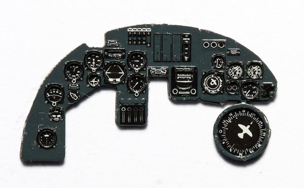 【新製品】YMA7254)ドルニエ Do17Z 夜間戦闘機 計器盤