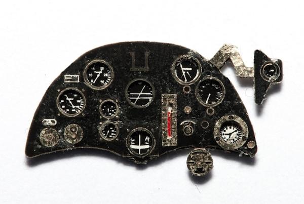 【新製品】YMA7273)ブリストル ブルドッグ Mk.II 計器盤