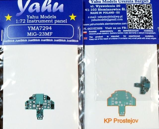 【新製品】YMA7294)MiG-23MF 計器盤