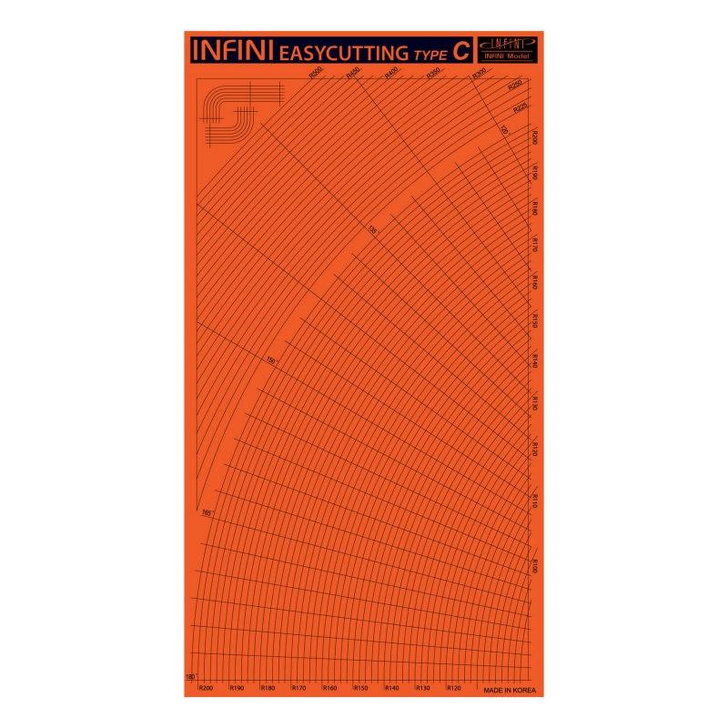【新製品】IT3003)イージーカッティングマットC(曲線)