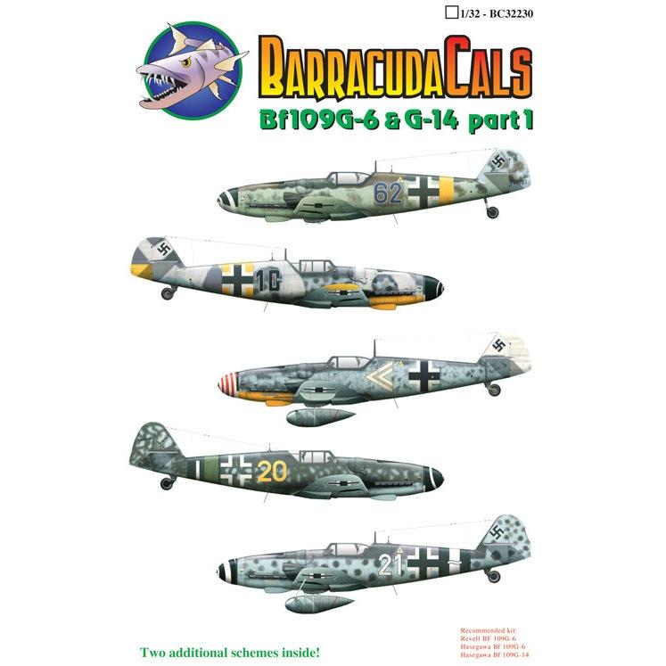 【新製品】32230)メッサーシュミット Bf109G-6 & G-14 Pt.1