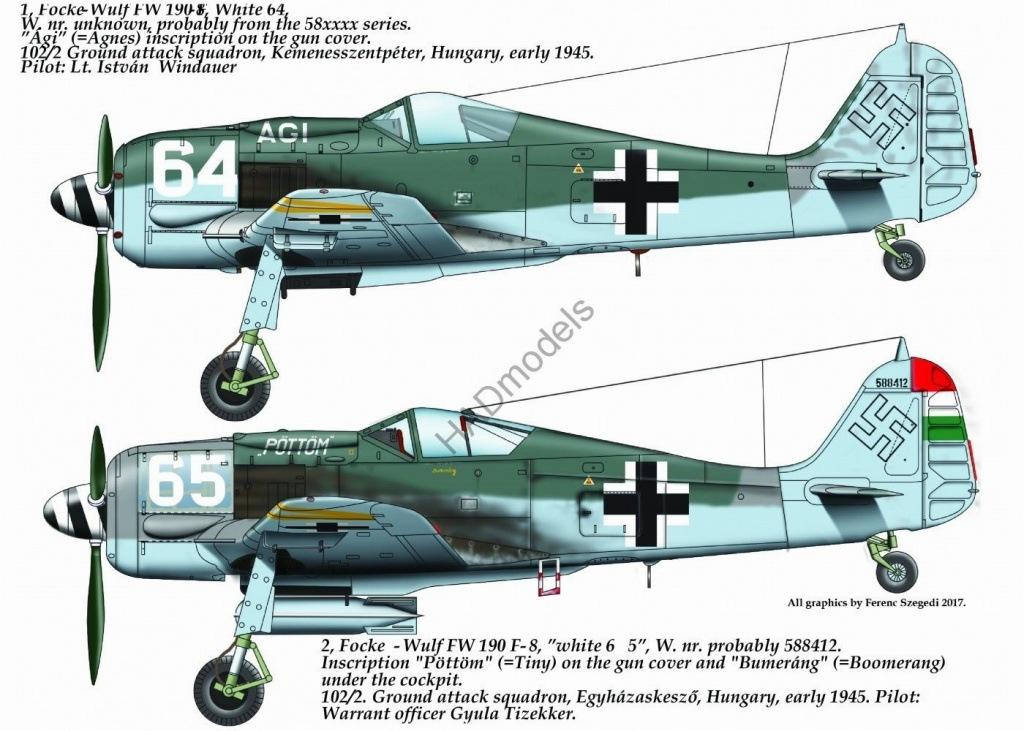 【新製品】D72178)フォッケウルフ Fw190F-8