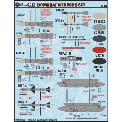 【新製品】48-053)ボムキャット ウェポンセット