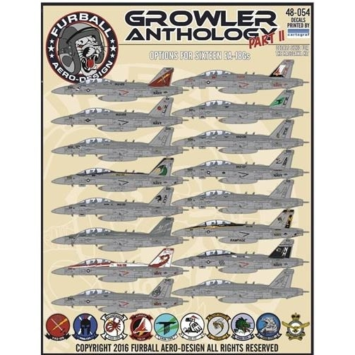 【新製品】48-054)EA-18G グラウラー Part.II