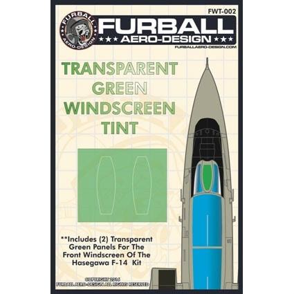 【新製品】FWT-002)F-14 トムキャット クリアグリーンウィンドスクリーン
