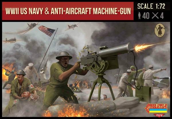 【新製品】MINI M112)WWII アメリカ海軍 対空機銃