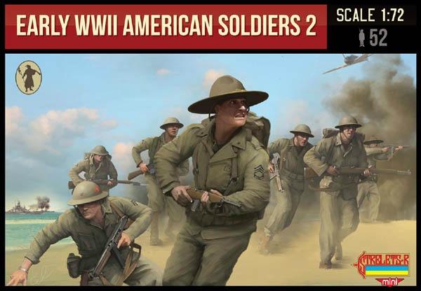 【新製品】MINI M113)WWII アメリカ兵 初期