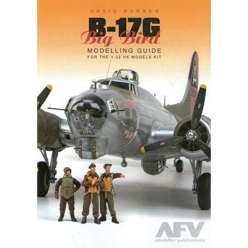 【新製品】DAVID PARKER B-17G BIG BIRD MODELLING GUIDE