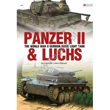 【新製品】PHOTOSNIPER 0025)II号戦車 & ルクス