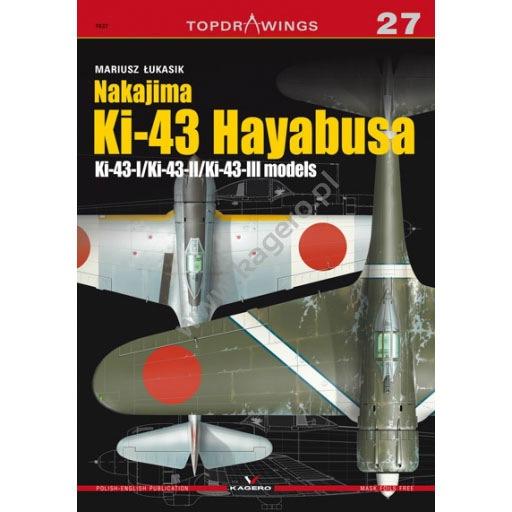 【新製品】TOPDRAWINGS7027)中島 キ43-I/II/III 一式戦闘機 隼