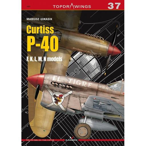 【新製品】TOPDRAWINGS 7037)カーチス P-40F/K/L/M/N