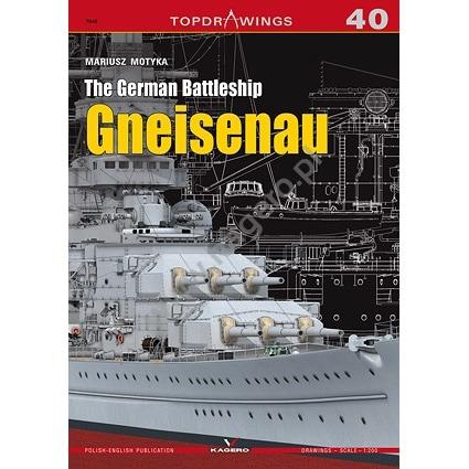 【新製品】TOPDRAWINGS 7040)独海軍 戦艦 グナイゼナウ