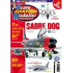 【新製品】スケールアヴィエーションモデラーVol.22-07)F-86K SABRE DOG