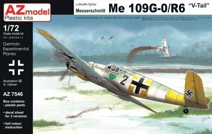 【新製品】AZ7546)Bf109G-0/R6 Vテール