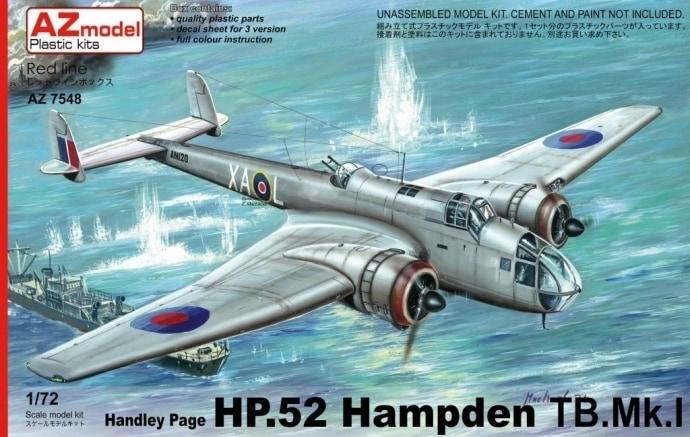 【新製品】AZ7555)ハンドレページ HP.52 ハンプデン TB.Mk.I