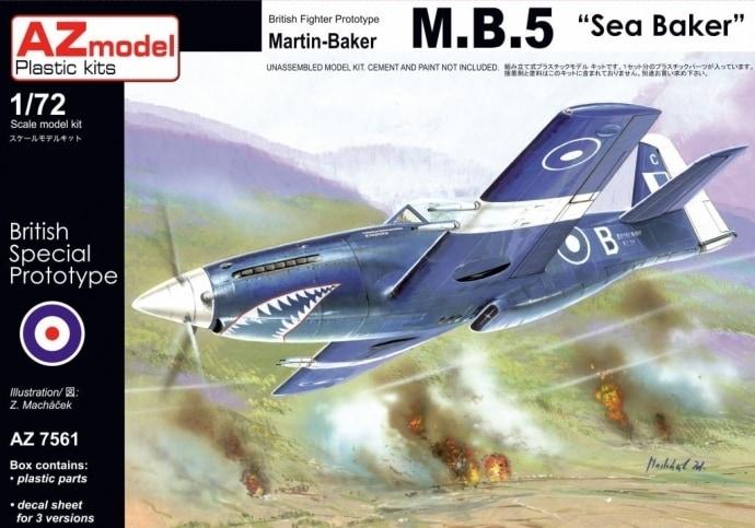 【新製品】AZ7561)マーチンベーカー M.B.5 シーベーカー 1944