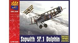 【新製品】COPPERSTATEMODELS 1026)ソッピース 5F.1 ドルフィン