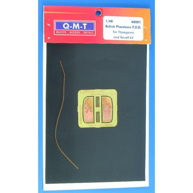 【新製品】クイックモデルディテール 48001)ブリティッシュファントム用FODカバー