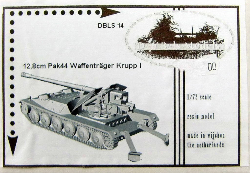 【新製品】Den Bels Models 014)クルップ ヴァッフェントレーガー 128mm対戦車自走砲