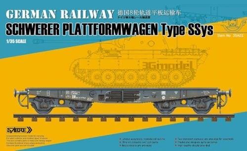 【新製品】Sabremodel 35A02)ドイツ 戦車運搬列車