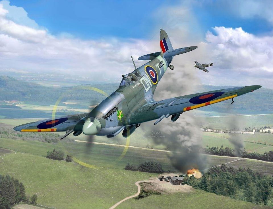 【新製品】03927)スーパーマリン スピットファイア Mk.IXc
