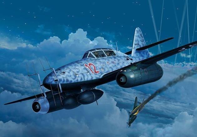 【新製品】04995)メッサーシュミット Me262B-1 夜間戦闘機