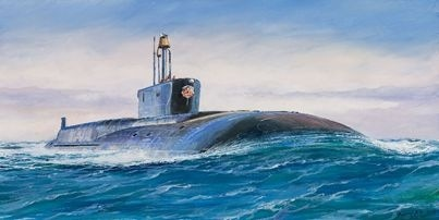 【新製品】9058)ボレイ型原子力潜水艦 ウラジミール モノマーフ