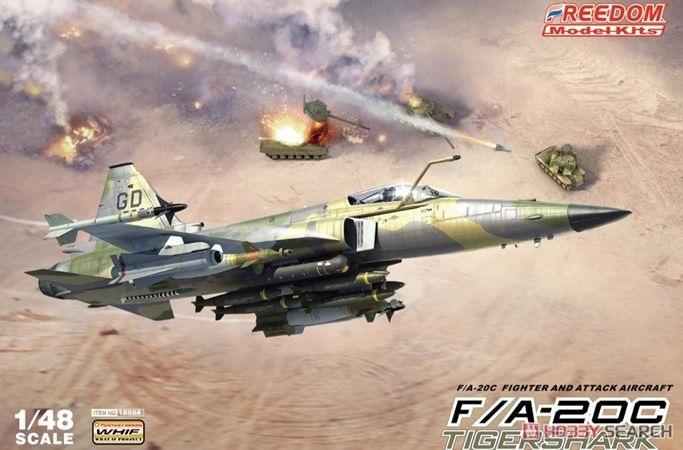 【新製品】18004)F/A-20C タイガーシャーク