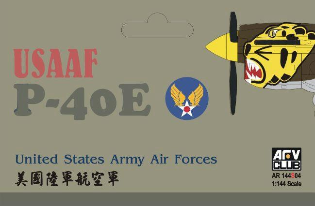 【新製品】AR144S04)米陸軍航空隊 P-40E