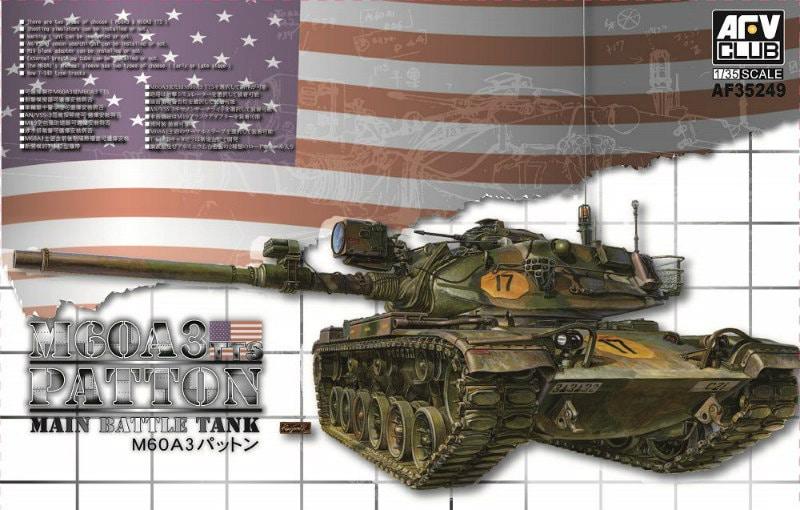 【新製品】AF35249)M60A3 パットン