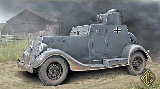 【新製品】48108)WWII ソ連 BA-20 軽装甲車 初期型