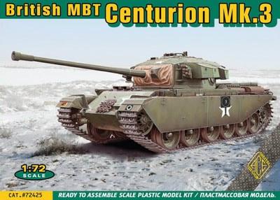 【新製品】72425)英 センチュリオン Mk.3 主力戦車