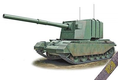 【新製品】72429)英 FV4005試作182mm砲搭載駆逐戦車