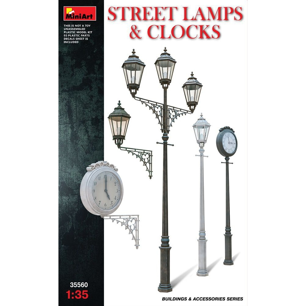 【新製品】35560)街燈と時計