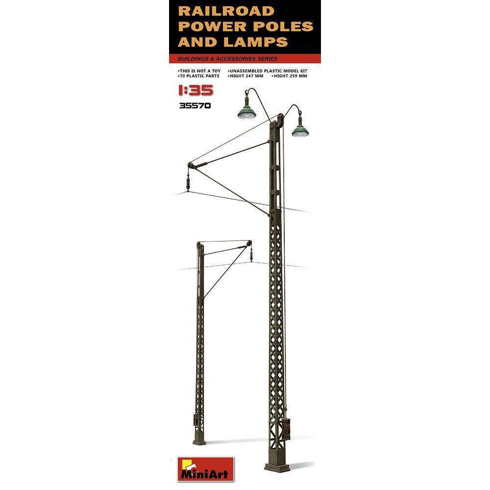 【新製品】35570)架線柱とランプ