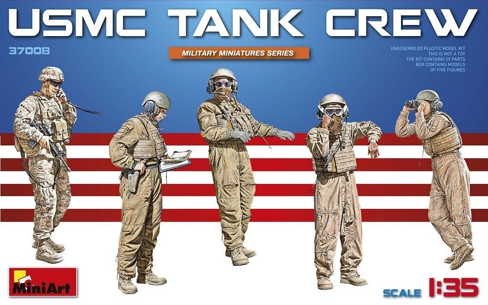 【新製品】37008)アメリカ海兵隊タンククルー5体入