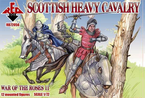 【新製品】72056)薔薇戦争 スコットランド重騎兵