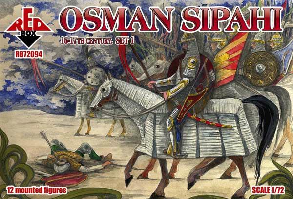 【新製品】72094)オスマン スィパーヒー 重装騎士 16-17世紀 1