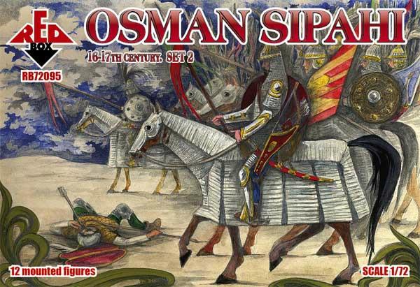 【新製品】72095)オスマン スィパーヒー 重装騎士 16-17世紀 2