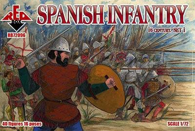 【新製品】72096)スペイン歩兵 16世紀 1