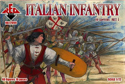 【新製品】72099)イタリア歩兵 16世紀 1