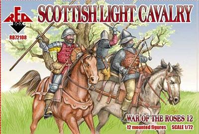 【新製品】72108)薔薇戦争 スコットランド軽騎兵