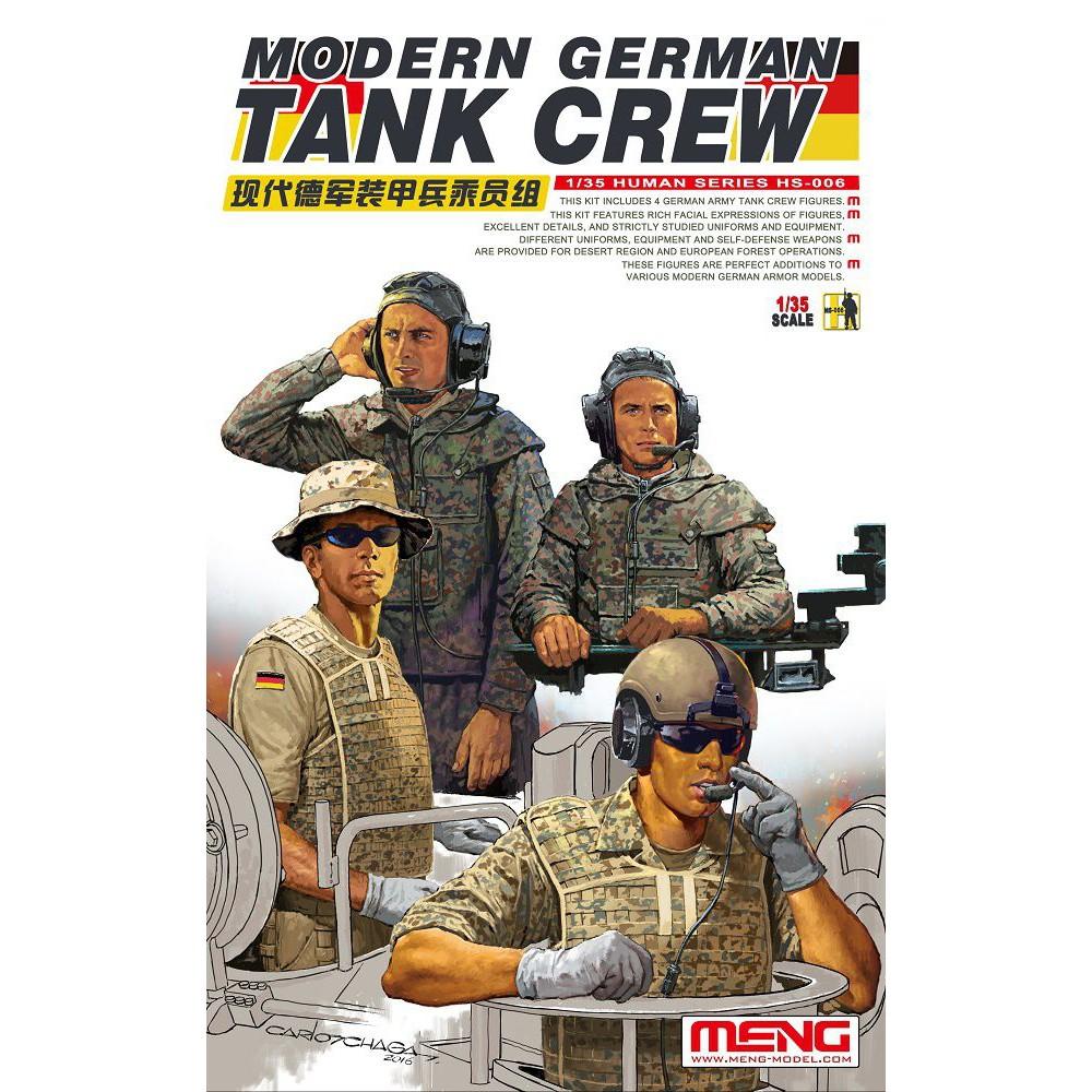 【新製品】HS-006)現代ドイツ軍戦車兵