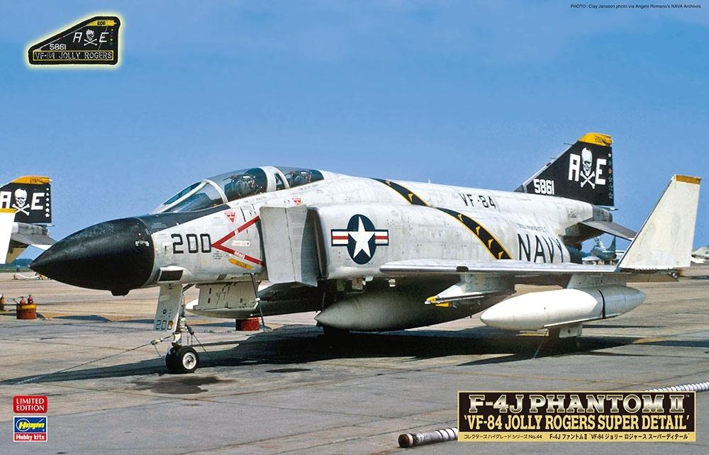 【新製品】CH44)F-4J ファントムII VF-84 ジョリーロジャース スーパーディテール
