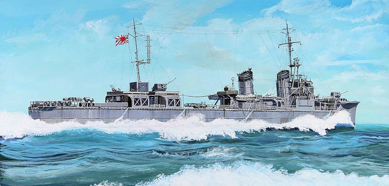 【新製品】W189)日本海軍 神風型駆逐艦 夕凪