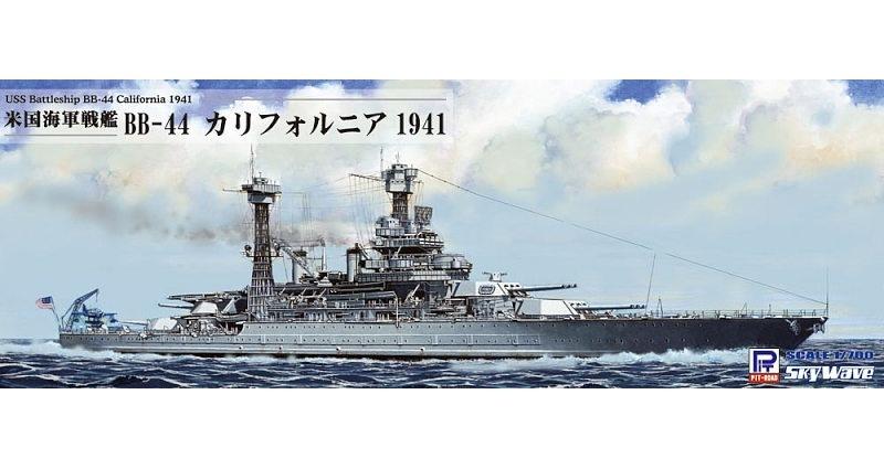 【新製品】W187)米国海軍 テネシー級戦艦 BB-44 カリフォルニア 1941