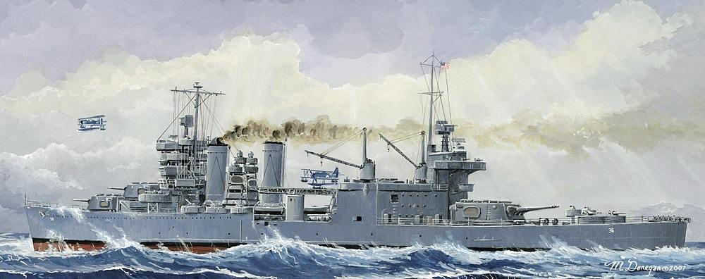 【新製品】W195)ニューオリンズ級重巡洋艦 CA-36 ミネアポリス 1942